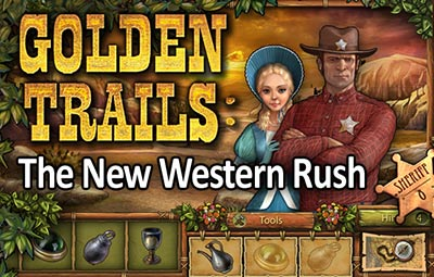 Golden Trails: The New Western Rush - a brand new Hidden Object game from Awem Studio