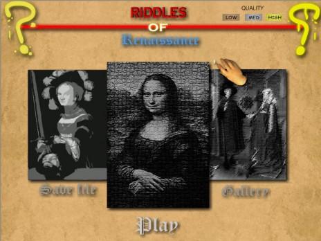 Riddles of Renaissance