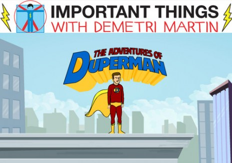 New animation on Important Things with Demetri Martin tonight!