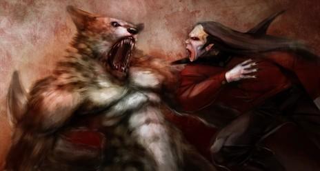 Vampires vs. Were-Wolfs