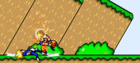 Goku vs Vegita New Animation