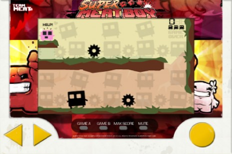 Super Meat Boy Iphone app!