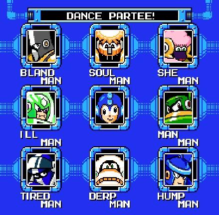 Mega Man 10 Improved Robot Masters