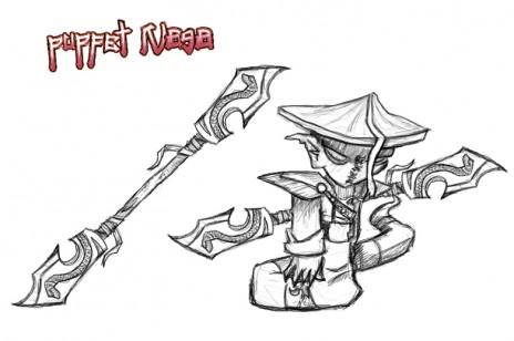 Naga character concept