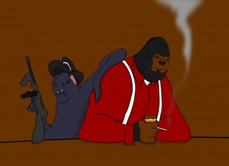 """new art """"Clover 'n Kong"""""""