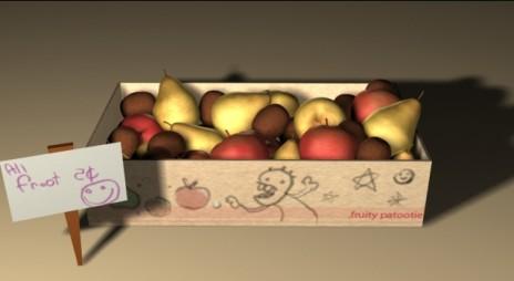 3d Fruit Box