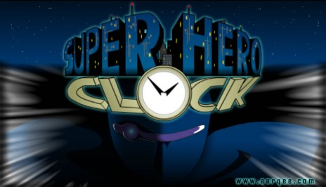 Super Hero Clock underway!!!