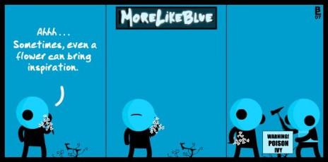 MoreLikeBlue: Flower