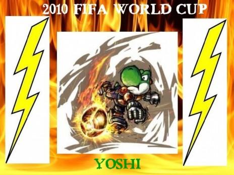 New devaintART: 2010 Fifa World Cup Yoshi