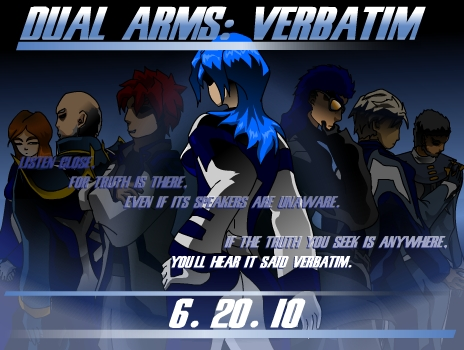 New Movie - Dual Arms Verbatim P1 (14 min)