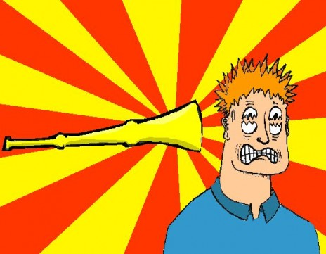 OMG it's a vuvuzela game!