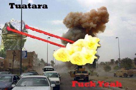 Tuatara Fuck Yeah