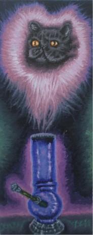 Feline Fraz Cat Pet Portrait Paintings