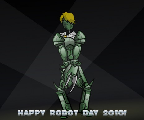 Happy Robot Day! Plus, I'm moving on.