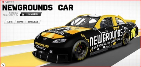 Newgrounds Cup Car