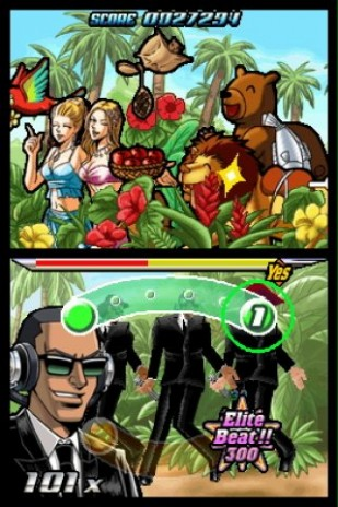 Elite Beat Agents flash game?