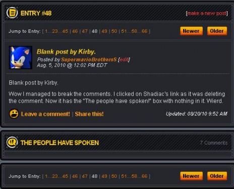 Broken comments