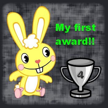 Yeay! My fisrt award!