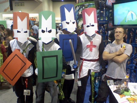 I AM VERY HAPPY! Dan Paladin and the Castle Crashers! :D