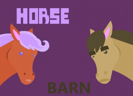 Horse Barn Episode 1 in the making :D