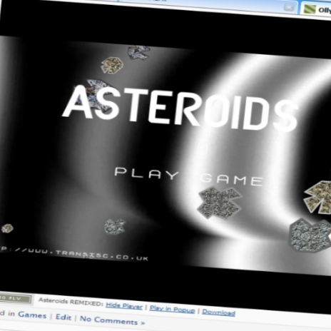Asteroids REMIXED