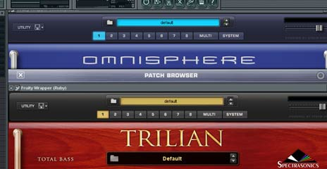 Got a Copy of Trilian and Omnisphere!