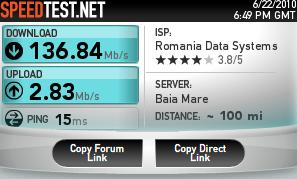Coolest internet speed ever! A must see!!!!!!!