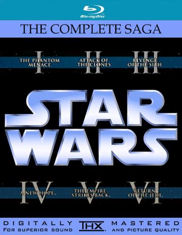 Star Wars Blu-Ray 2011