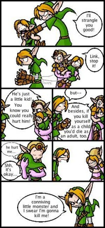 2nd Comic (Link VS Young Link)