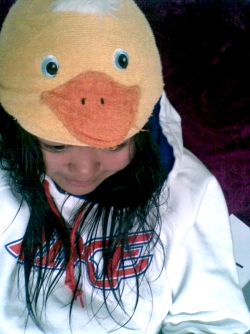 Yo, it's a duck.