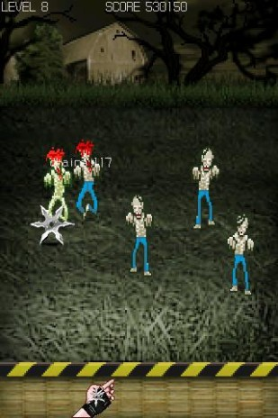 Made graphics for a Android phone zombie game!!!