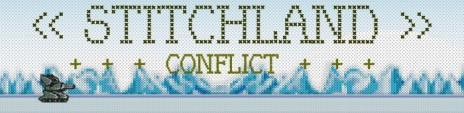 Stitchland Conflict medals are working!