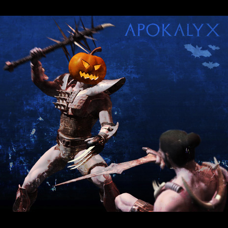 Today is the Apokalyx...but Halloween is coming...too!