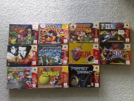 Some N64 Games
