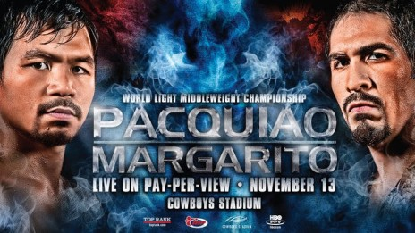 must see tonight: PACQUIAO VS MARGARITO (box fight)