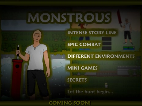 Monstrous Released!