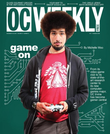 My Video Game Developer Club made the front page of OC weekly!