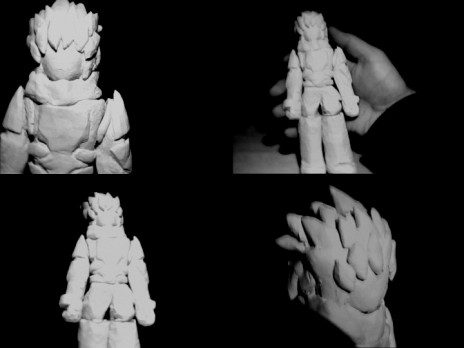 Lololol I made a small sculpture of JB. :D