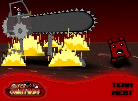 My AWESOME Super Meat Boy FanArt