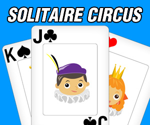 Our first Free Online Game comes today.... Solitaire Circus!