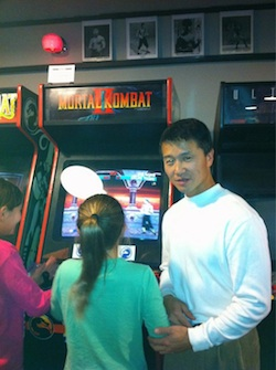 Shang Tsung Takes Shape at Galloping Ghost Arcade