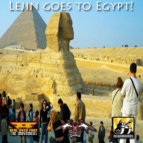Lejin goes to Egypt!