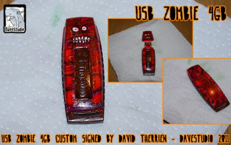 Torn Skin USB Zombie 4GB - now available!