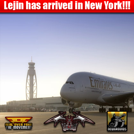 Mr. Big Bad Lejin has safely arrived in new york from recent Egypt mass outpouring.