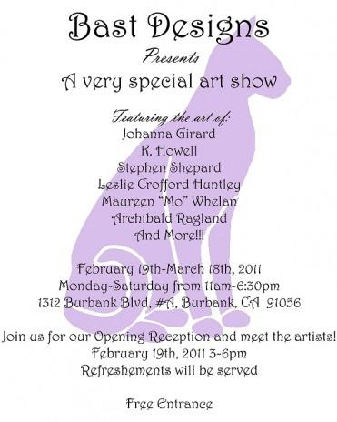Group art show in Burbank!