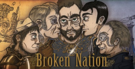 New Web Comic underway! 'BROKEN NATION'