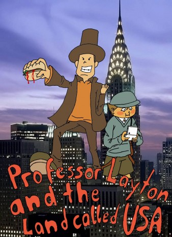 Professor Layton and the Land called USA