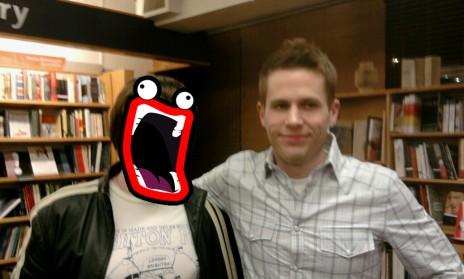 I met The Oatmeal!