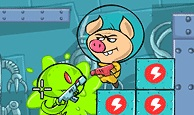 Pig Nukem: a casual take on hardcore platforming