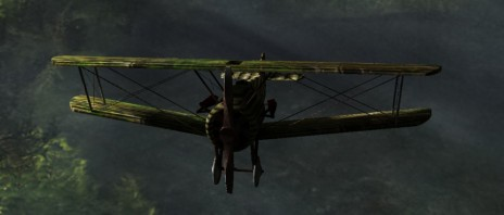 New plane model and texture and lighting!